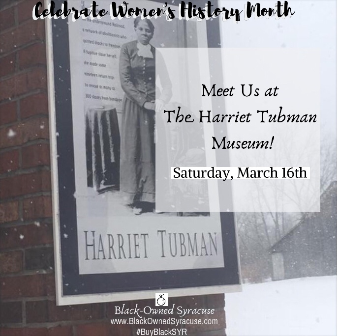 Meet Us at The Harriet Tubman Museum!